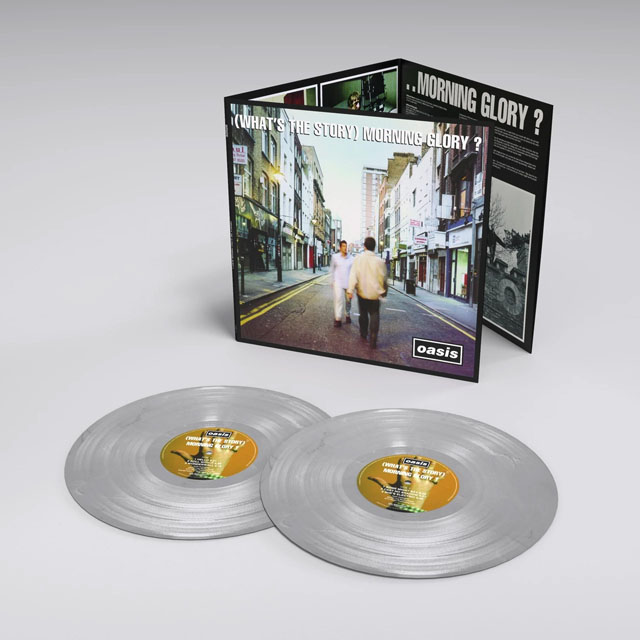 Oasis / (What's the Story) Morning Glory? - 25th Anniversary Limited Edition Silver Vinyl