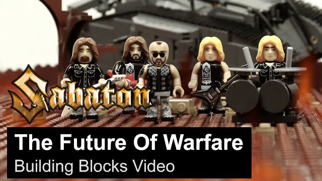 SABATON - The Future Of Warfare (Building Blocks Video)