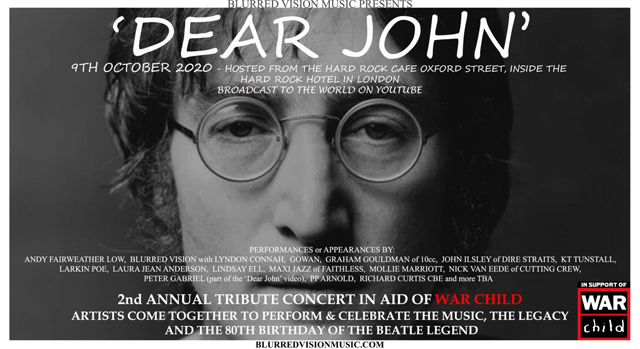 ear John - 2nd Annual Tribute Concert in aid of War Child