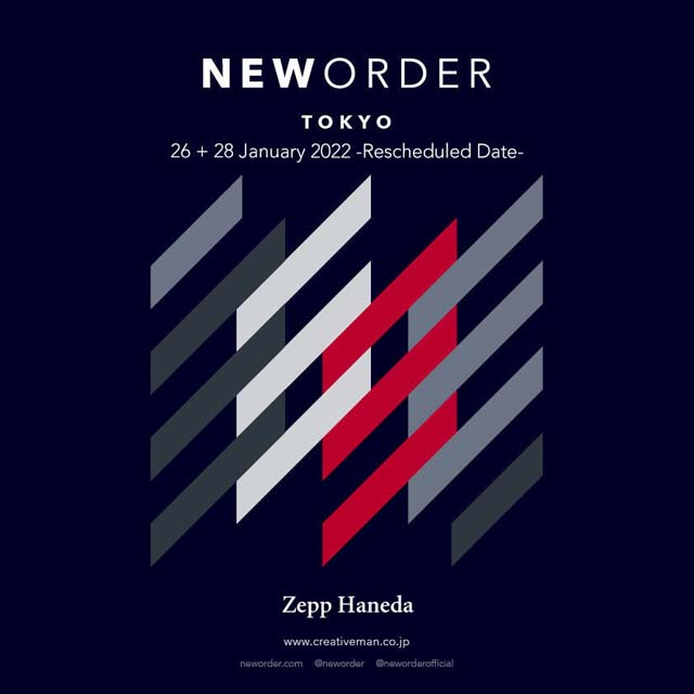 New Order - Japan tour 2022