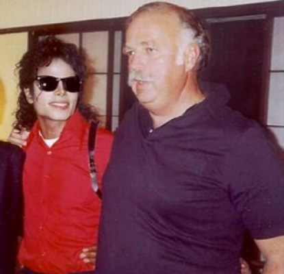 Michael Jackson and Bruce Swedien