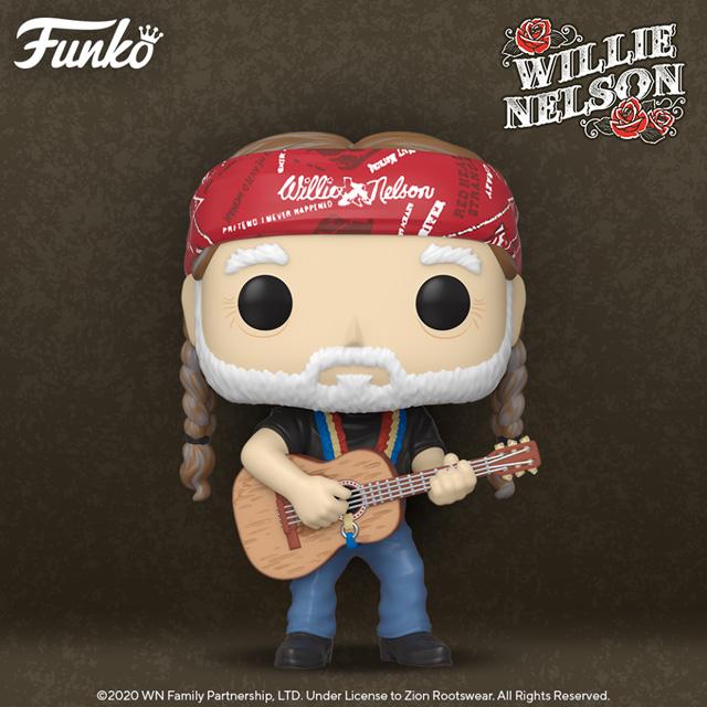 FUNKO Pop! Rocks- Willie Nelson.