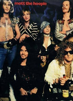 Mott The Hoople 1973