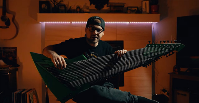 Jared Dines / The Mountain Dew Meme Guitar Exists Now