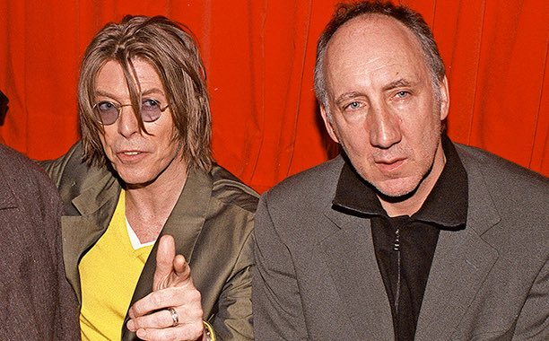 Pete Townshend and David Bowie