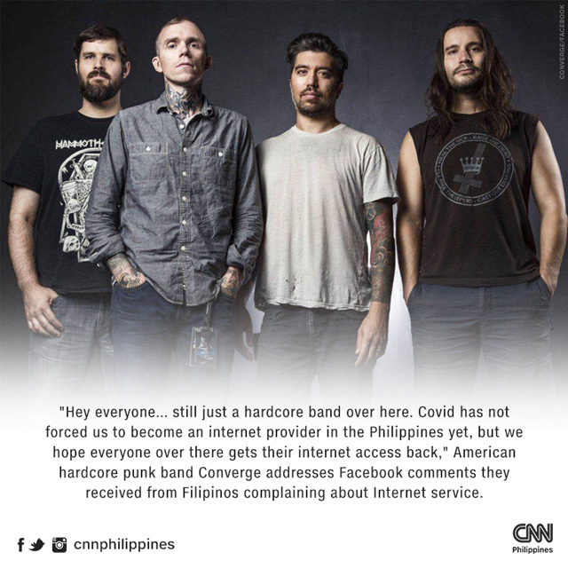 Converge is not internet provider
