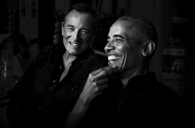 Barack Obama and Bruce Springsteen / Renegades: Born in the USA