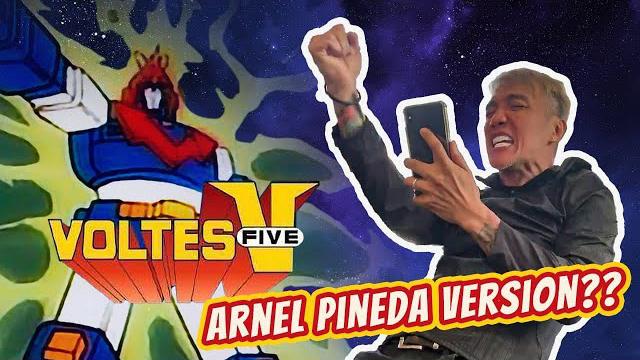 VOLTES V Theme Song - ARNEL PINEDA (Throwback Thursday)