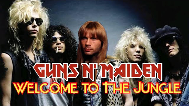 Raphael Mendes - What if Bruce Dickinson sang for GUNS N' ROSES?! - Welcome To The Jungle