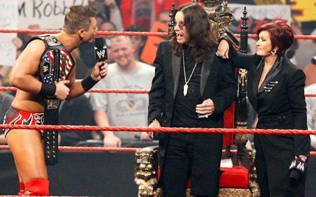 Ozzy Osbourne & Sharon Osbourne - Image via WWE