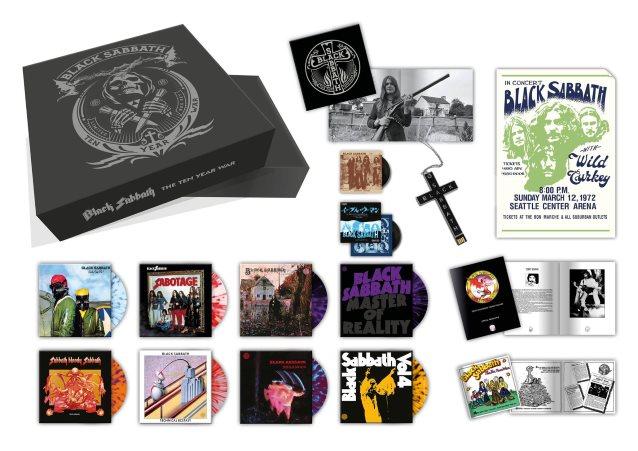 ブラック・サバスが限定アナログレコード・ボックスセット『the Ten Year War』を9月発売 Amass
