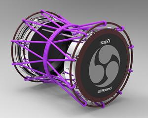 世界初の『電子担ぎ太鼓』をローランドと鼓童が共同開発、様々なパーカッションの音色を発音 - amass