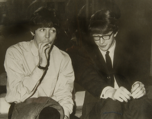 Paul McCartney and Peter Asher