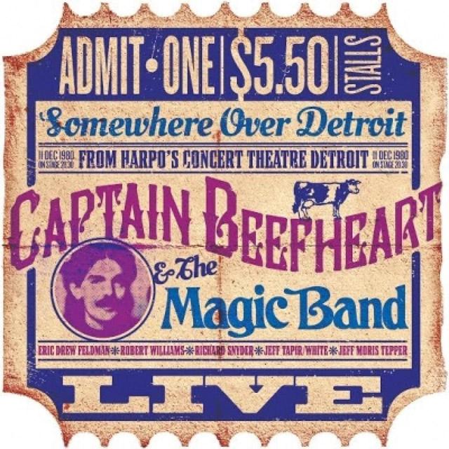 Captain Beefheart and The Magic Band  / Harpos Detroit Dec 11th 1980