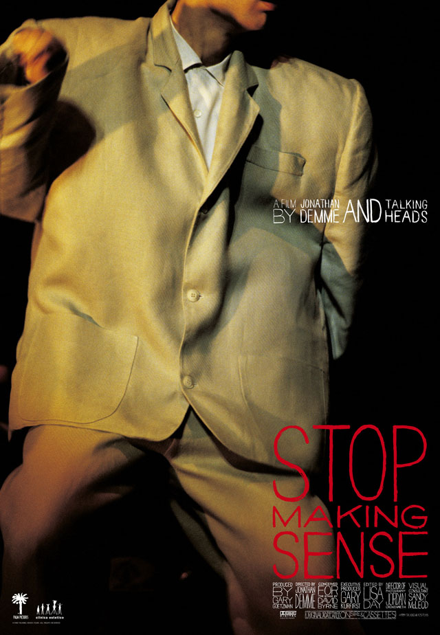 Talking Heads - Stop Making Sense ©1984 TALKING HEADS FILMS.  ALL RIGHTS RESERVED