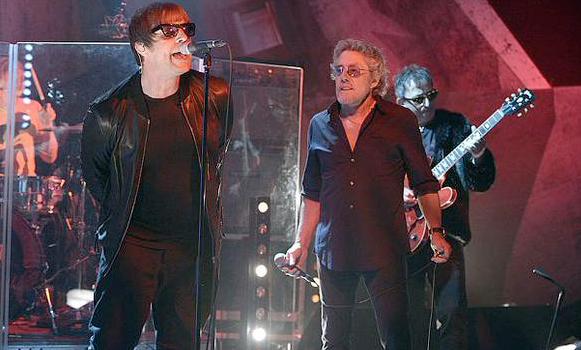 Liam Gallagher & Roger Daltrey