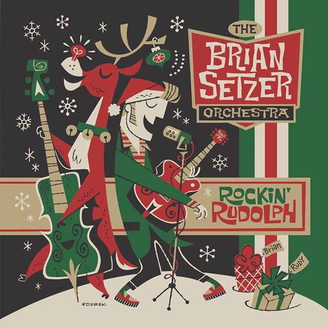 The Brian Setzer Orchestra / Rockabilly Rudolph