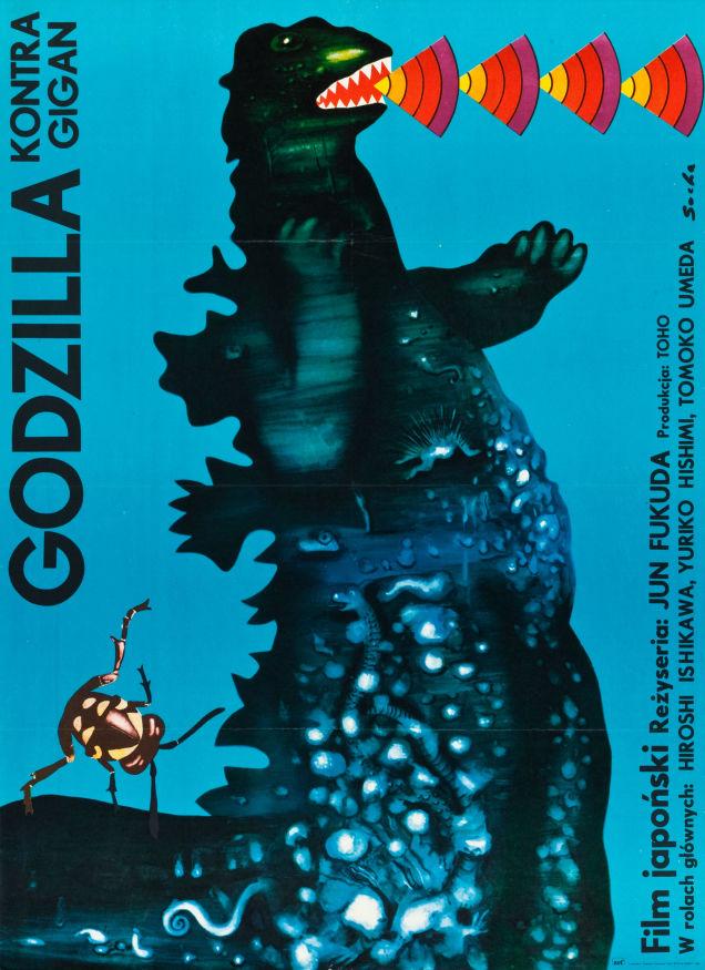 Godzilla vs. Gigan, 1977 (Poland)