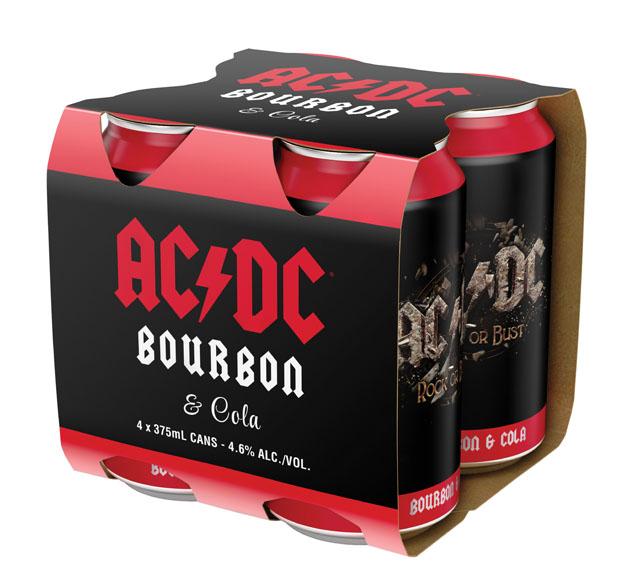 AC/DC Bourbon & Cola