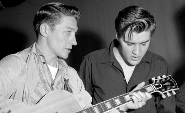 Scotty Moore, Elvis Presley