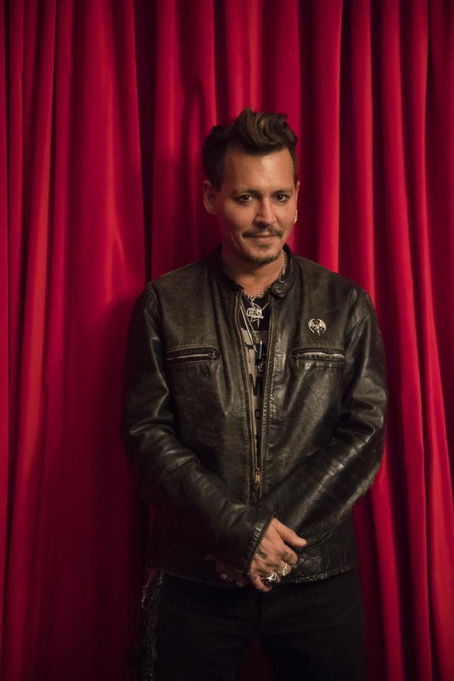 Johnny Depp - Photo:Ross Halfin