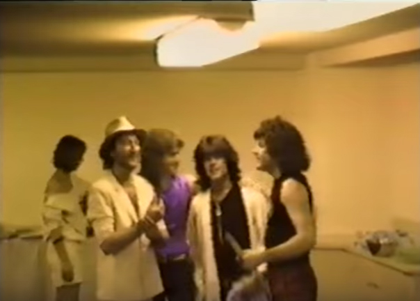Ritchie Blackmore's Rainbow final show and backstage in 1984 at The Tokyo Budokan
