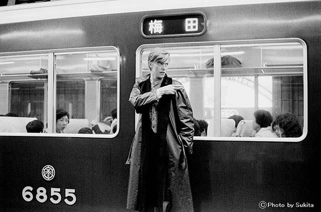 David Bowie (C) Photo by Sukita