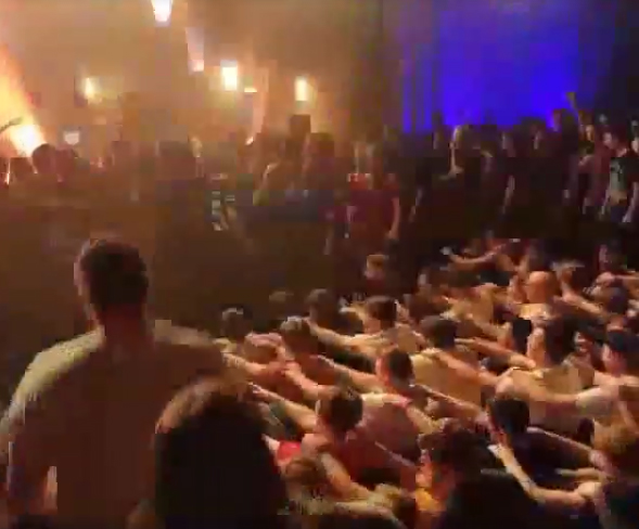 Rowing in the Mosh Pit Is Now a Thing