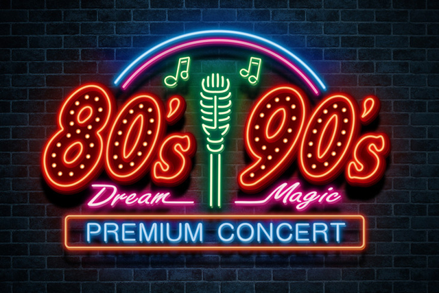 80's Dream 90's Magic PREMIUM CONCERT
