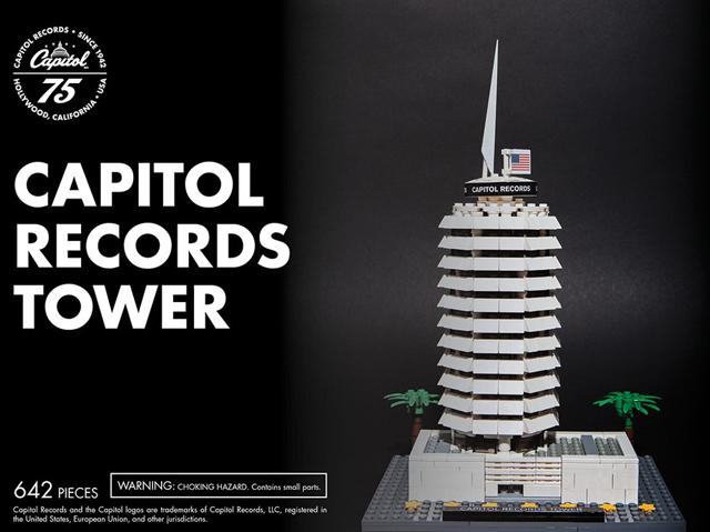 キャピトル・レコードの象徴「キャピトル・タワー」のオフィシャルLEGO ...