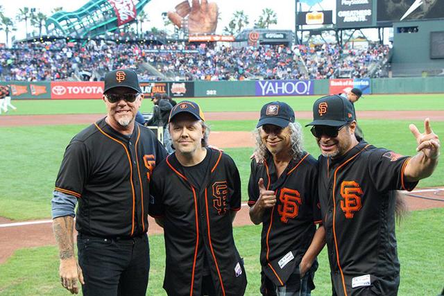 メタリカ×サンフランシスコ・ジャイアンツのコラボ<Metallica Night ...