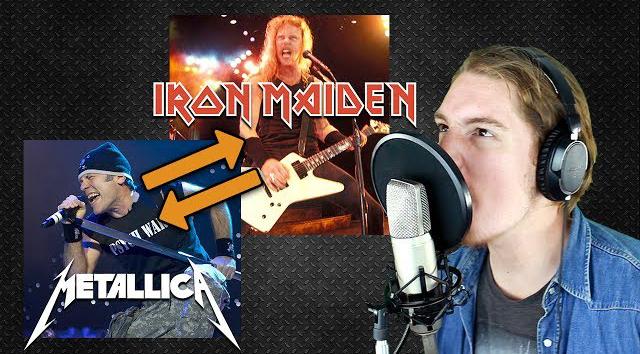 Iron Maiden & Metallica VOICE SWAP (Impression) [Part 1] - Parasyche