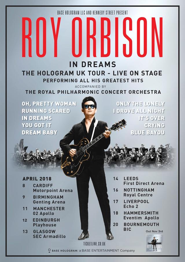 Roy Orbison in Dreams: The Hologram U.K. Tour