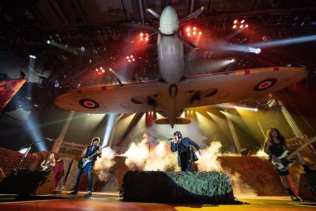 Iron Maiden - Legacy Of The Beast Tour 2018