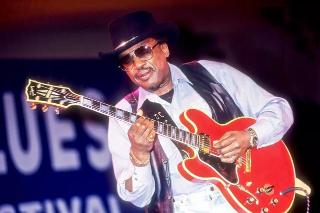 Otis Rush - Photo by Getty Images/Jack Vartoogian