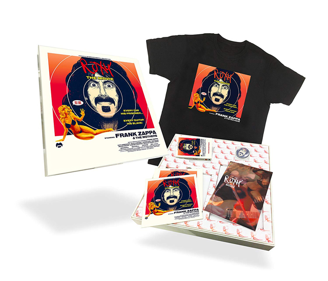 フランク・ザッパ/ロキシー・ザ・ムーヴィー【デラックス・エディション】(BD+CD+T シャツ+カセット)