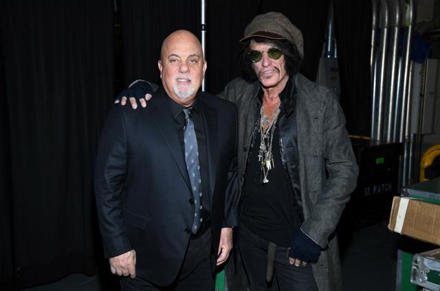Billy Joel and Joe Perry