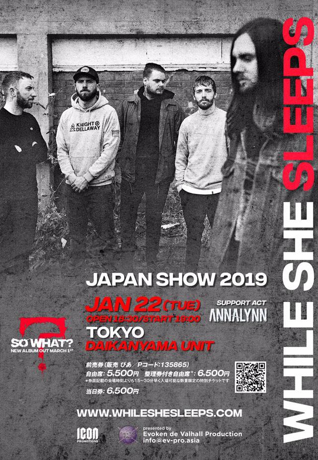 While She Sleeps - Japan Show 2019