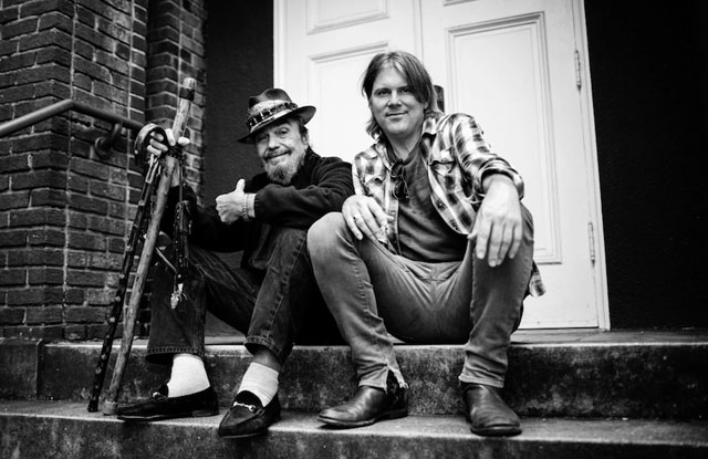 Dr. John and producer Shane Theriot, photo by Sandrine Lee