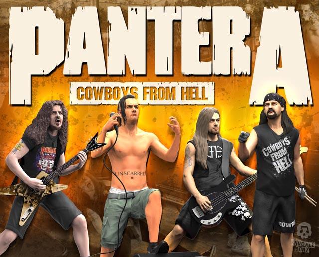 Pantera Rock Iconz Set (4 Statues)