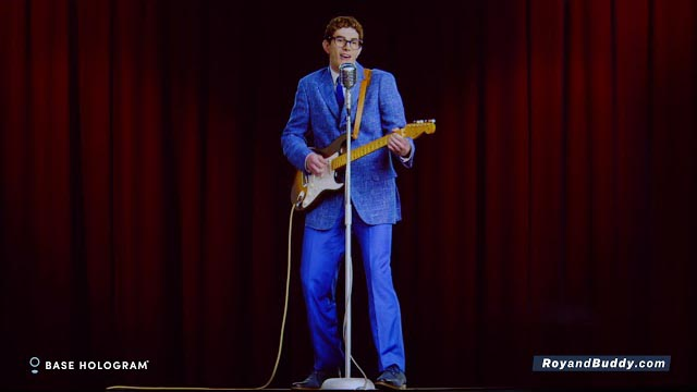 Buddy Holly Hologram Demo