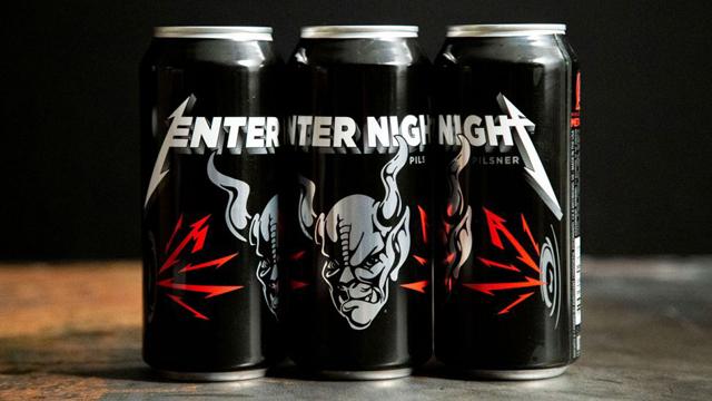 Metallica - Enter Night Pilsner