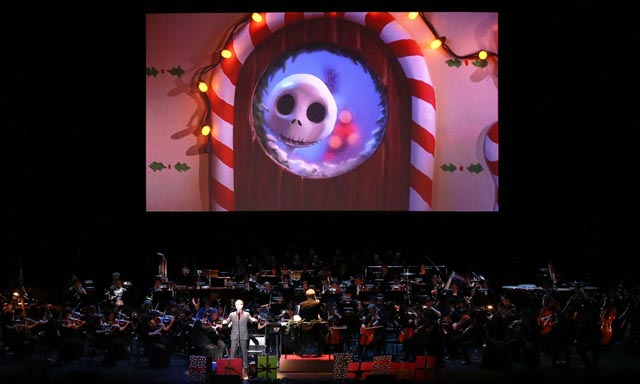 「ナイトメアー・ビフォア・クリスマス」in コンサート ©Disney All rights reserved.