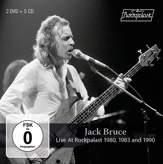 Jack Bruce / Live At Rockpalast 1980, 1983 And 1990