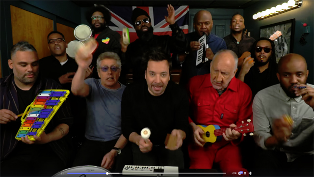 Jimmy Fallon, The Who & The Roots - The Tonight Show Starring Jimmy Fallon