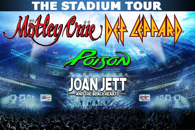 Mötley Crüe, Def Leppard + Poison + Joan Jett and The Blackhearts 2020 Tour Dates