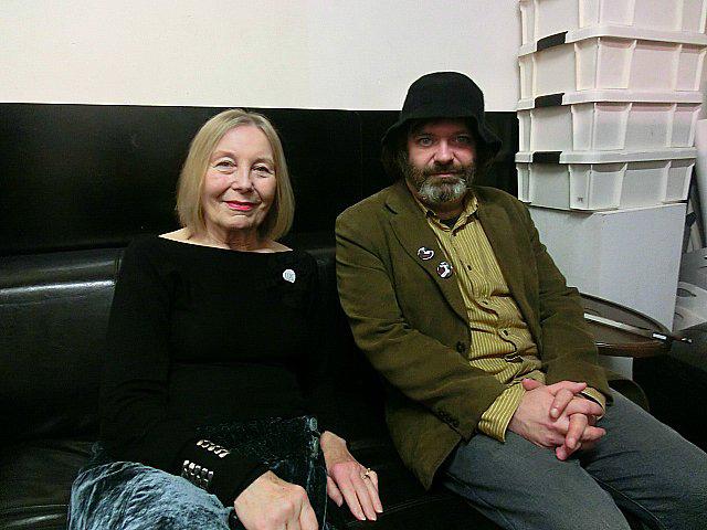 Brunhild Ferrari and Jim O'Rourke - Photo: Junya Murakami