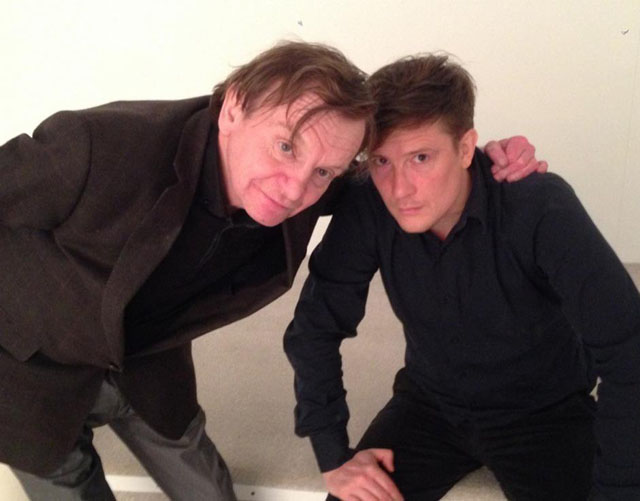 Mark E Smith with Jan St Werner
