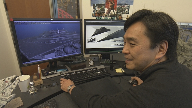 NHK『逆転人生「スター・ウォーズのCGを手がけた脱サラ証券マン」』(c)NHK