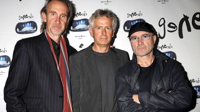 Mike Rutherford, Tony Banks and Phil Collins in 2007 (Image credit: Brian Rasic - Getty)